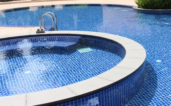 POOL TILE [Porcelain Exterior/Interior Wall Mosaic Tiles]