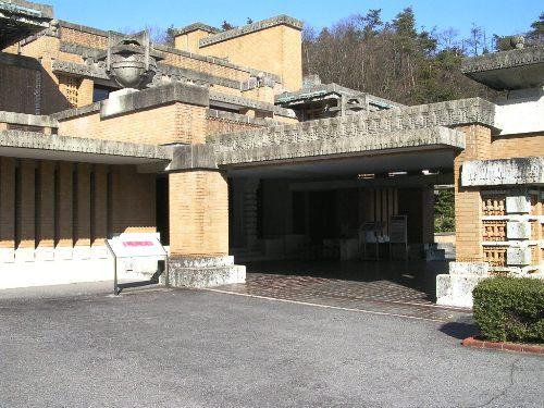 明治村 帝国ホテル ポルトコシエ北入口