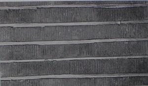 「スクラッチレンガ」 4形状  寸法:約315(長さ)x55(高さ)x50(奥行)      約105x55x50      約210x55x50      約420x55x50