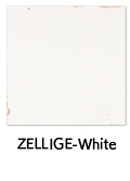 ZELLIGE-White ゼリージュ